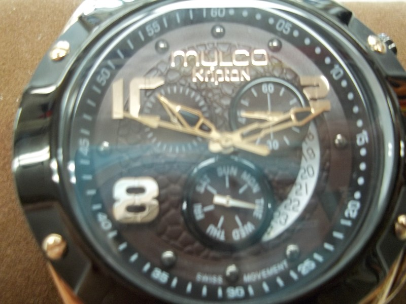MULCO KRIPTON MW5-2029-035 ANALOG DISPLAY SWISS QUARTZ