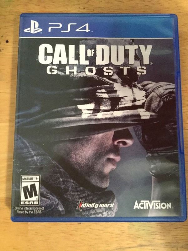 CALL OF DUTY GHOSTS - PS4