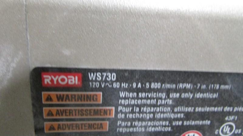 RYOBI Tile Saw WS730