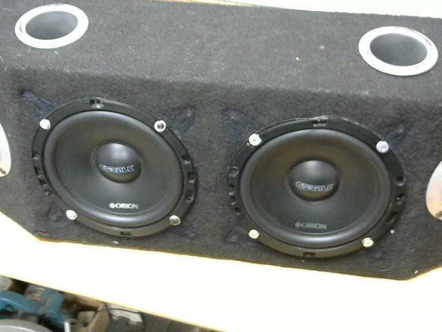 ORION ELECTRONICS Car Speakers/Speaker System COBALT 8