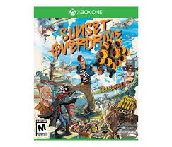 NINTENDO Microsoft XBOX One Game SUNSET OVERDRIVE XBOX ONE