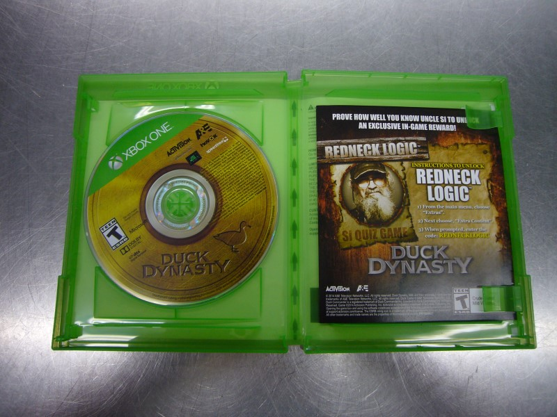 MICROSOFT Microsoft XBOX One Game DUCK DYNASTY XBOX ONE