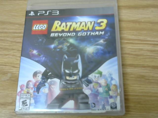 SONY Sony PlayStation 3 Game LEGO BATMAN 3 BEYOND GOTHAM PS3