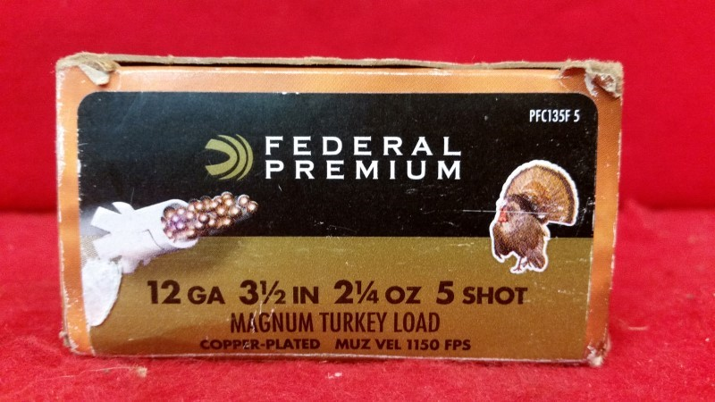 "Federal 12ga 3-1/2"" Magnum Turkey Load - 5 Shot"