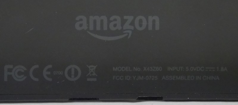 AMAZON KINDLE FIRE HD TABLET, X43Z60