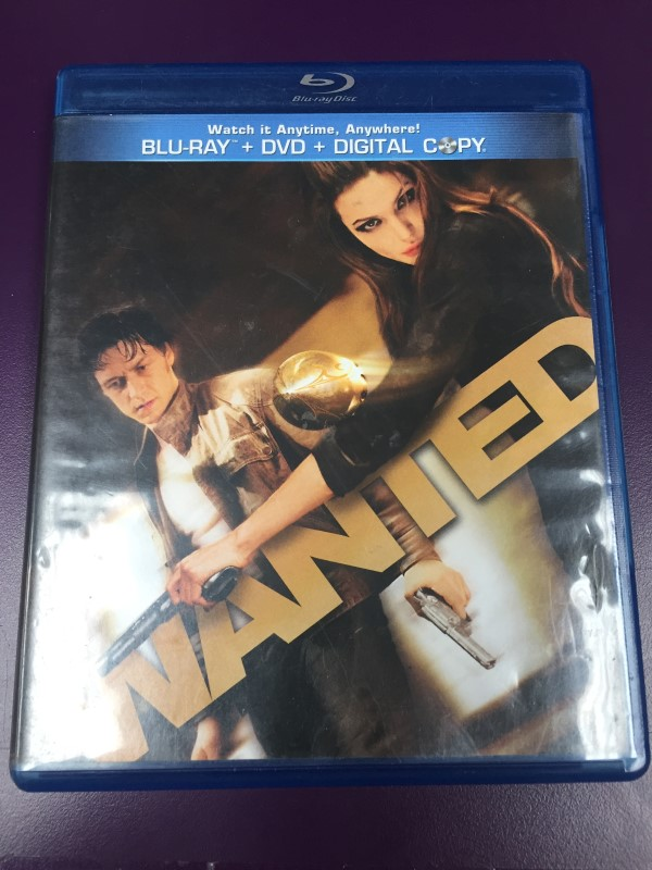 WANTED BLU-RAY + DVD + DIGITAL COPY