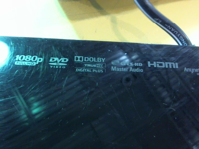 SAMSUNG DVD Player 3D BLU RAY BD-F5900
