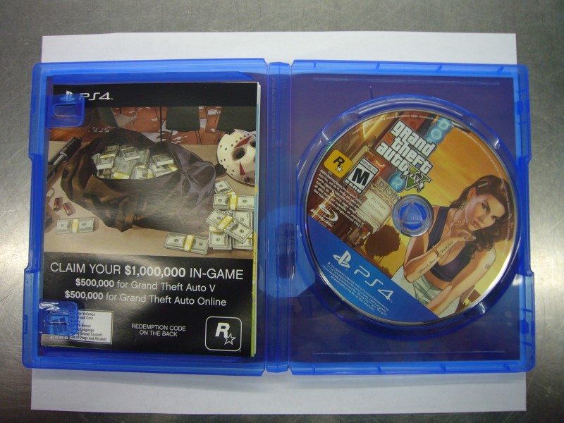 SONY PlayStation 4 Game GRAND THEFT AUTO V - PS4