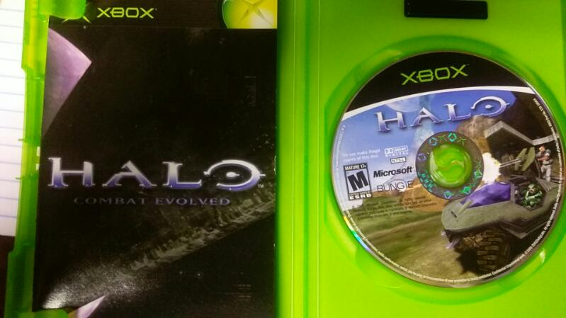 MICROSOFT XBOX HALO COMBAT EVOLVED DVD GAME