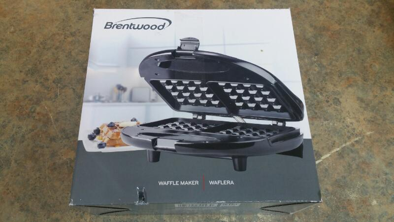 BRENTWOOD APPLIANCES Grill WAFFLEMAKER