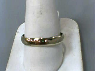 Gent's Gold Wedding Band 14K Yellow Gold 2dwt Size:12