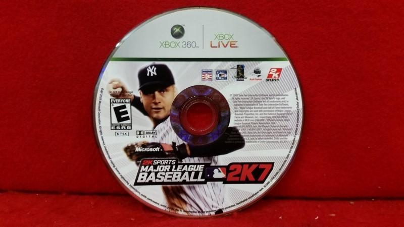 Major League Baseball 2K7 (Microsoft Xbox 360, 2007)