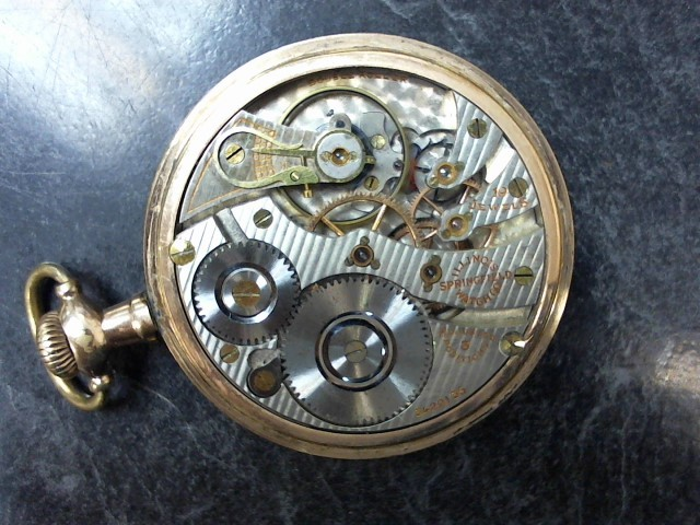 ILLINOIS WATCH COMPANY Pocket Watch VINTAGE POCKET WATCH