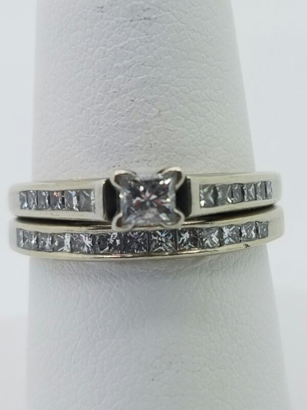 DIAMOND  WEDDING SET L'S 14KT DIAMOND  2.9DWT/14KWG