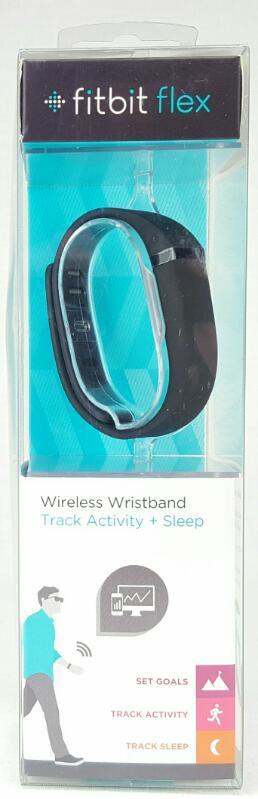 FITBIT FLEX Wireless Wristband Track Activity + Sleep FB401BK