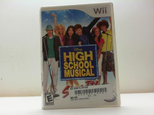 NINTENDO Nintendo Wii Game HIGH SCHOOL MUSICAL SING IT