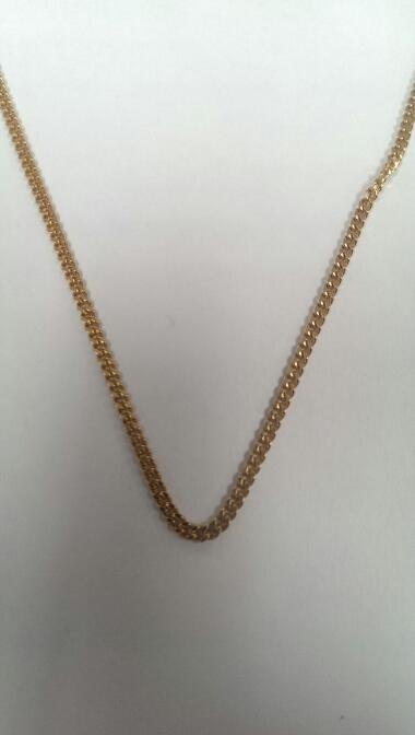 "24"" Gold Chain 18K Yellow Gold 9.5g"