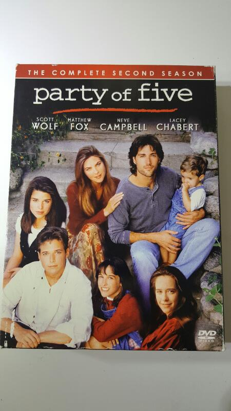 Party of Five 5 The Complete Second Season 2 on DVD