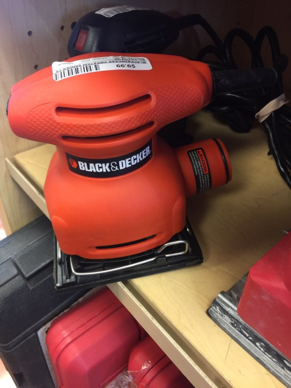 BLACK&DECKER Vibration Sander FS500