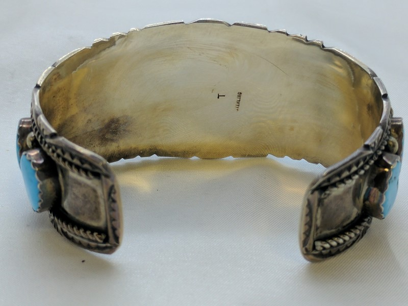 Silver Bracelet 925 Silver 76.9g
