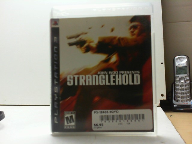 SONY Sony PlayStation 3 Game JOHN WOO PRESENTS STRANGLEHOLD