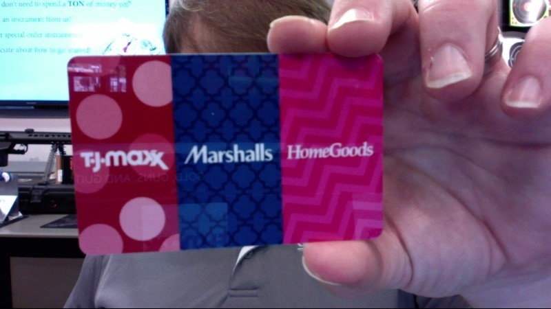 TJ MAXX Gift Cards GIFT CARD