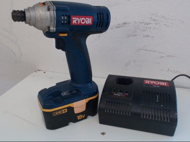RYOBI Cordless Drill P230 w/Battery and Charger