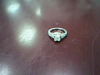 Lady's Diamond Fashion Ring 51 Diamonds 1.64 Carat T.W. 10K White Gold 3.17g