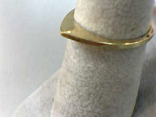 Lady's Gold Wedding Band 14K Yellow Gold 1dwt Size:6.5