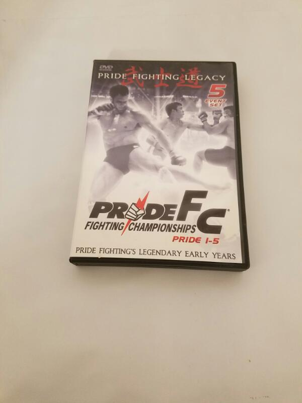 Pride Fighting Championship: Pride Fighting Legacy 1-5 (5 DVD Set)