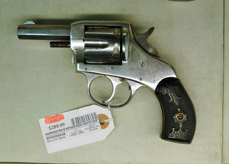 HARRINGTON & RICHARDSON THE AMERICAN DOUBLE ACTION 32 S&W