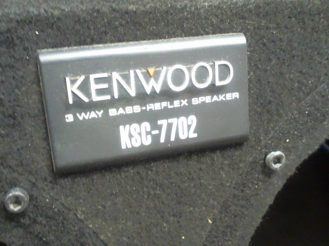 KENWOOD Car Speakers/Speaker System KSC-7702 (SUBWOOFER BOX)