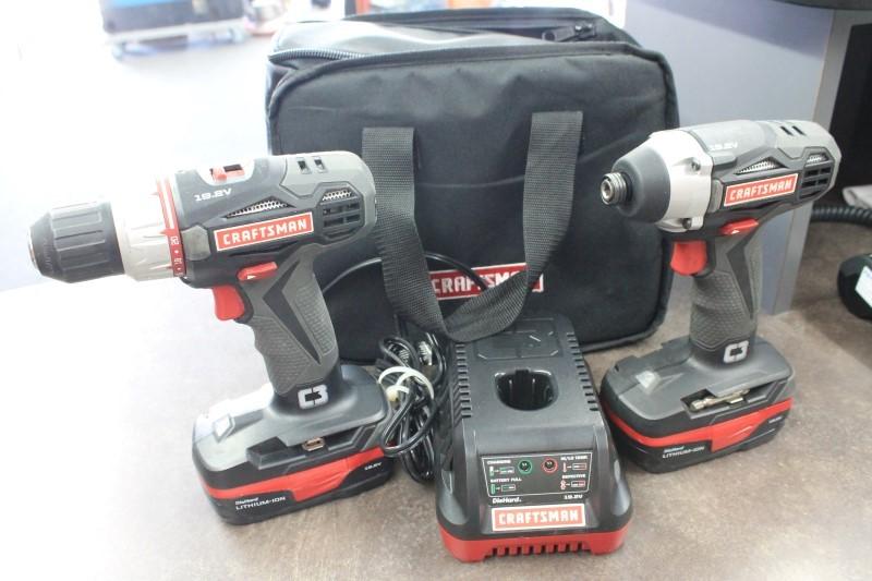 CRAFTSMAN Cordless Drill/Driver 5727.1 COMBO SET