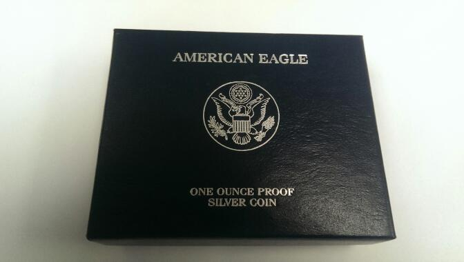 UNITED STATES 2006 PROOF SILVER EAGLE