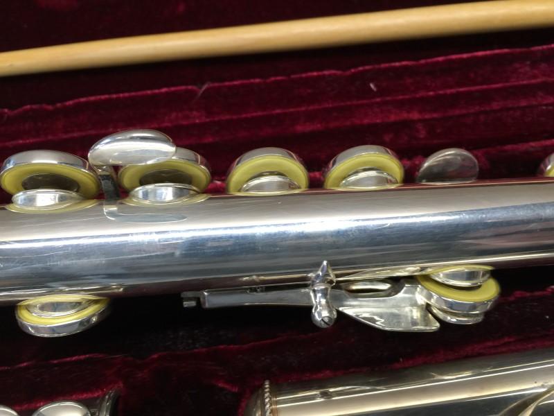 AMADEUS AF500 Student Model Silver Plated Flute C foot Offset G