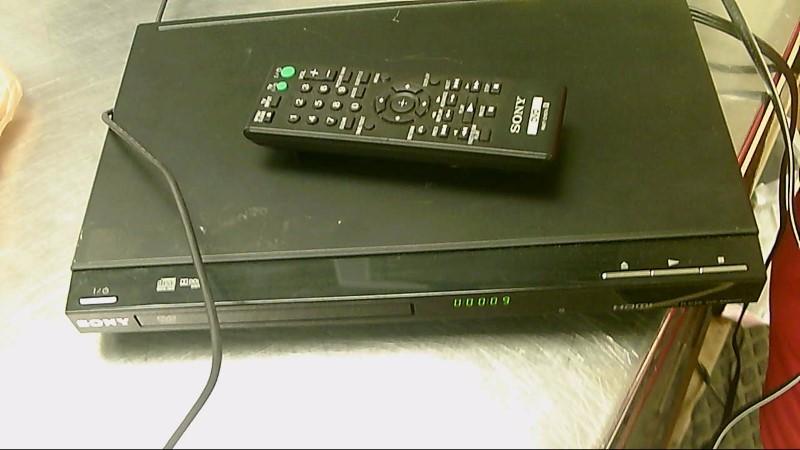 SONY HDMI DVD PLAYER,REMOTE DVP-SR500H