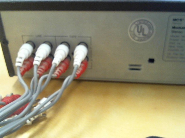 MCS Cassette Player 3596