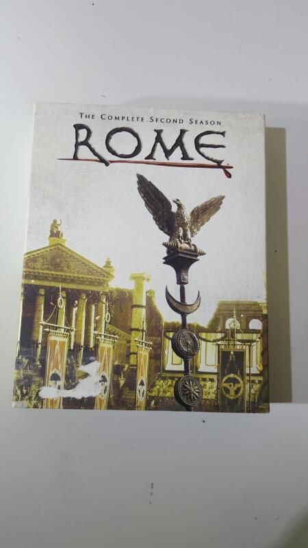 Rome Season 2 on DVD