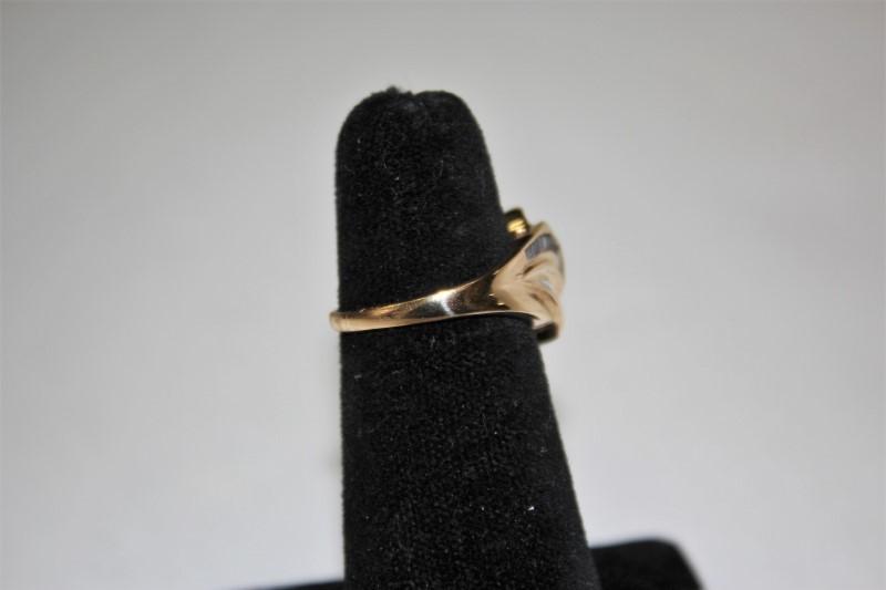 Lady's Diamond Fashion Ring 45 Diamonds .45 Carat T.W. 14K Yellow Gold 4.7g