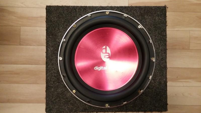 "DIGITAL AUDIO Car Speakers/Speaker System 12"" SUBWOOFER SPEAKER"