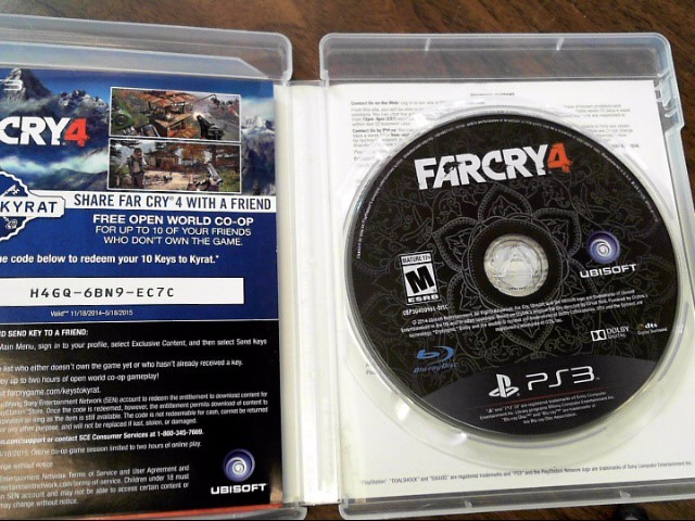SONY Sony PlayStation 3 Game FARCRY4 - PS3