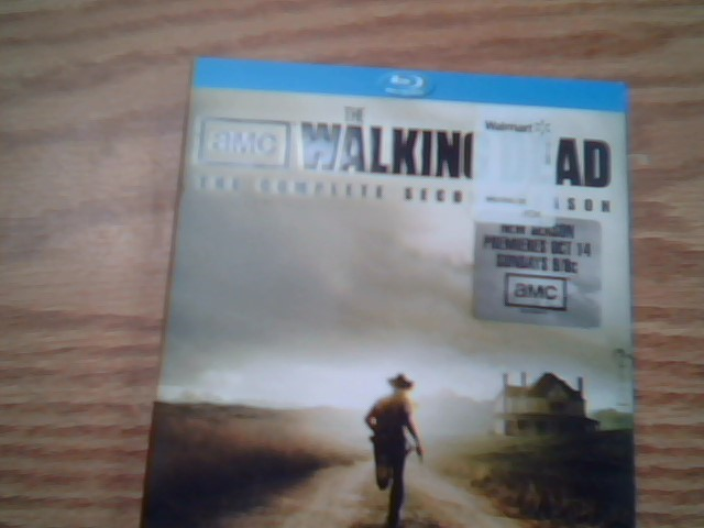 BLU-RAY BOX SET Blu-Ray THE WALKING DEAD THE COMPLETE SECOND SEASON