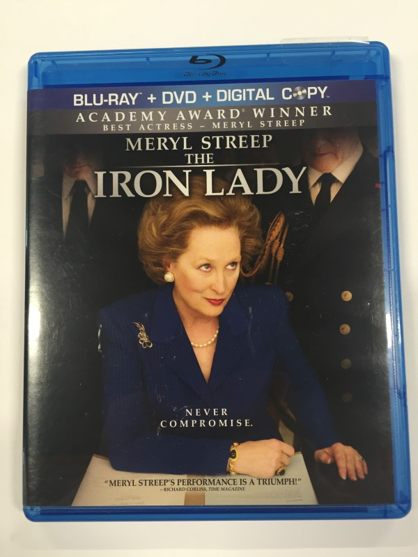 THE IRON LADY (BLU-RAY/DVD, 2012, 2-DISC SET)