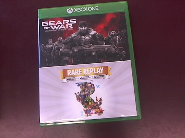 MICROSOFT Microsoft XBOX Game GEARS OF WAR RARE REPLAY