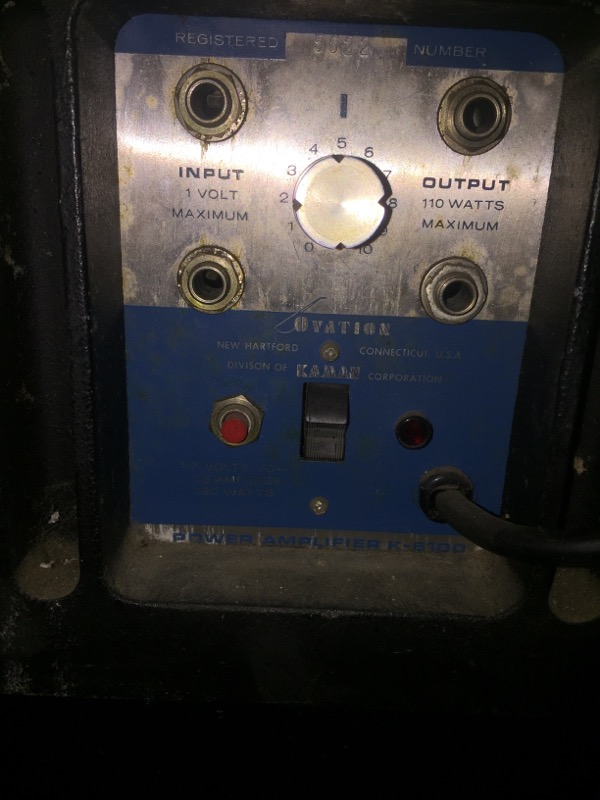 OVATION Amplifier/Tube Amp 6108