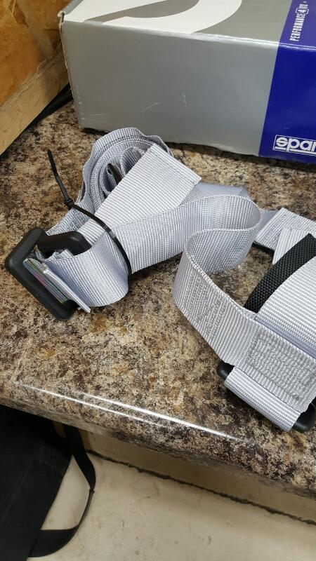 """Sparco 2"""" Tuning Belt 4pt Bolt in Harness - New (S, E24,16R-06-0033)"""