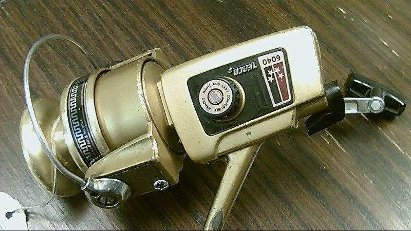 Vintage Zebco 6040 Open Face Spinning Fishing Reel