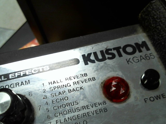 KUSTOM AMPLIFICATION Electric Guitar Amp KGA65
