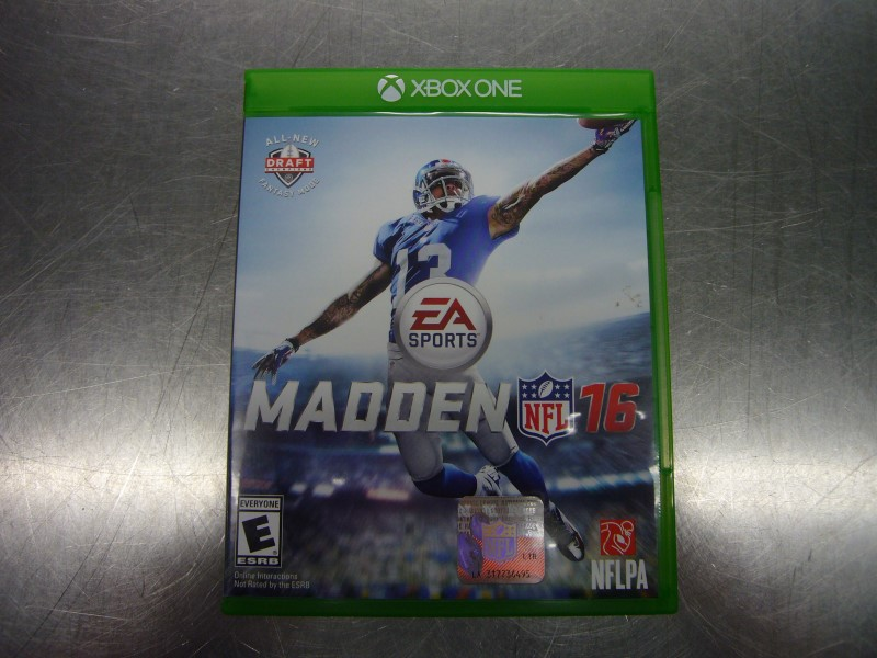 MICROSOFT Microsoft XBOX One Game MADDEN 16 - XBOX ONE
