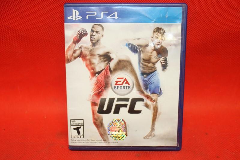 EA Sports UFC (Sony PlayStation 4, 2014)